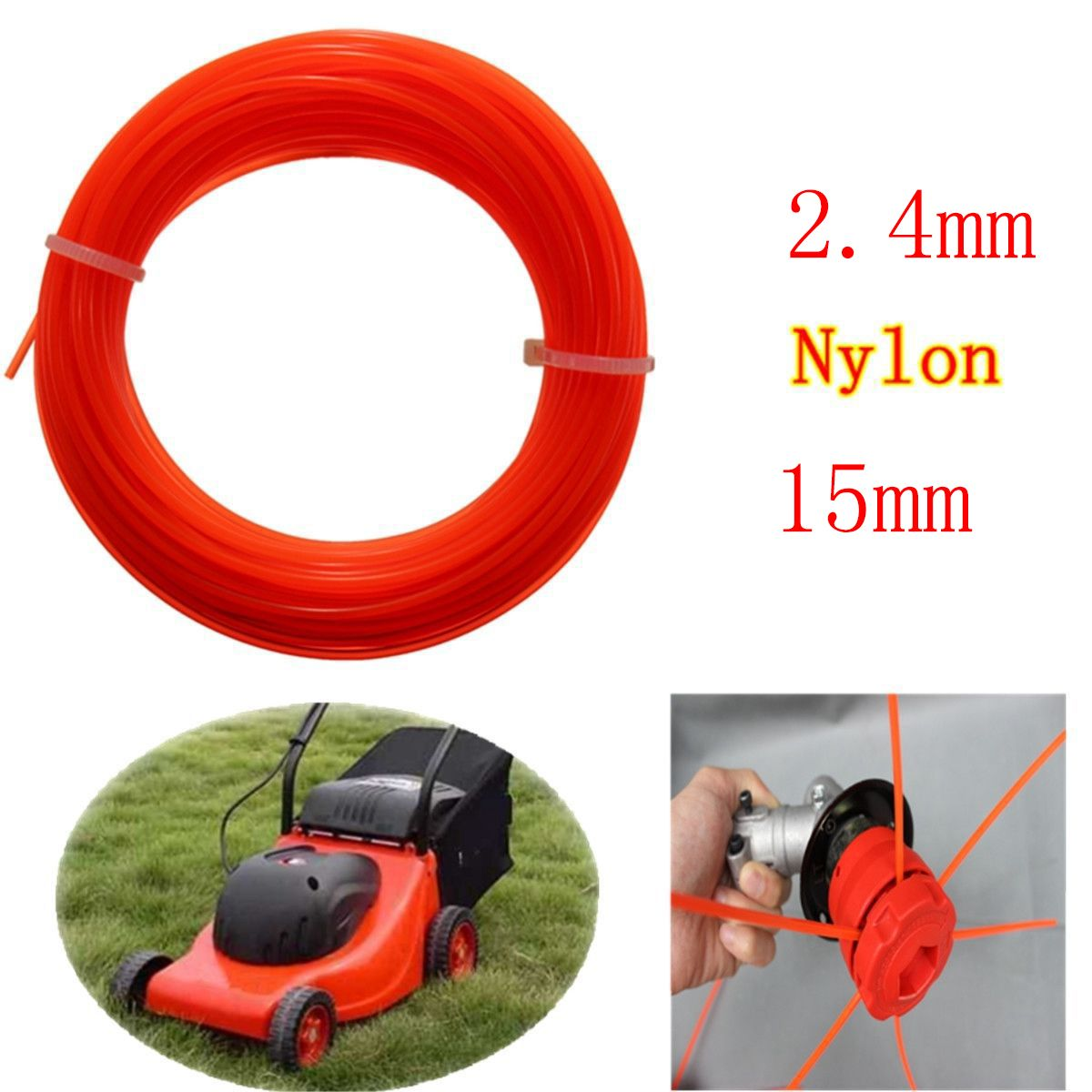 High Quality Grass Cut Strimmer Line Spool Nylon Cord Wire String ...