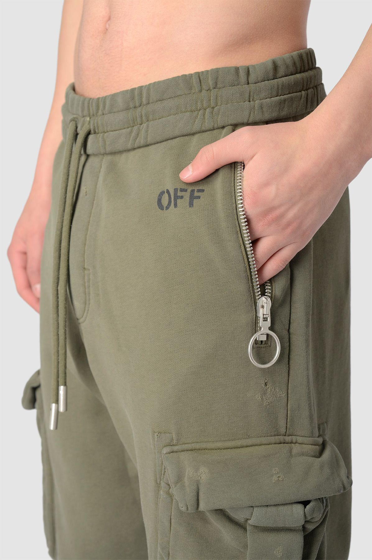 OFF-WHITE Washed Cargo Pants