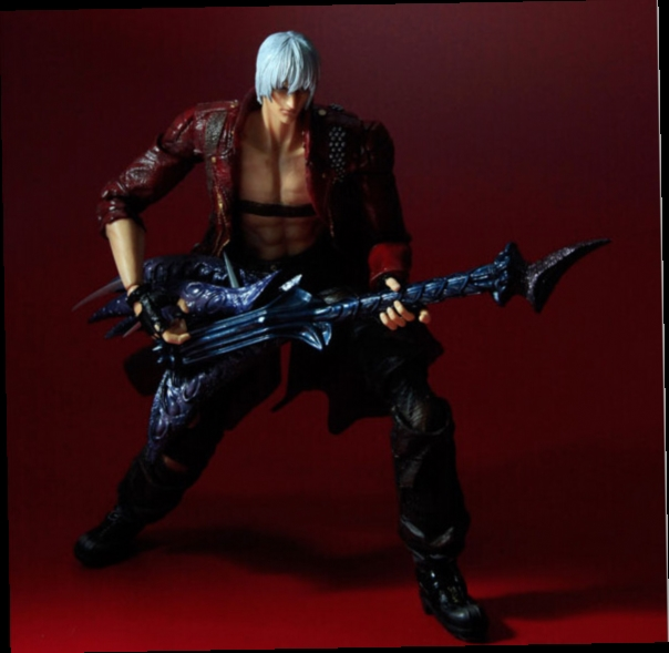 48.22$  Buy now - http://alio5p.worldwells.pw/go.php?t=32694880346 - Devil May Cry 3 Action Figure Toys Playarts Kai Anime Toy Movie Dante Play Arts Kai 25CM Collection Model 48.22$