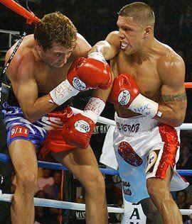 Vintage Original Oscar de la Hoya vs Fernando Vargas Boxing Fight Poster