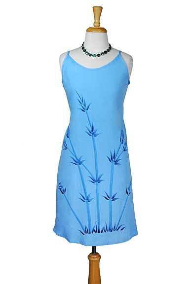 Womens Sundress - Bamboo Blue FINAL SALE NO RETURNS