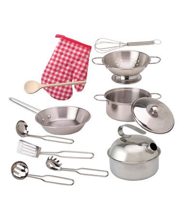 Another Great Find On Zulily Deluxe Cooking Set Zulilyfinds