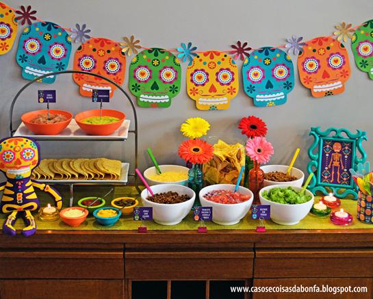 9a11161073b01 Chá tema Festa Mexicana!