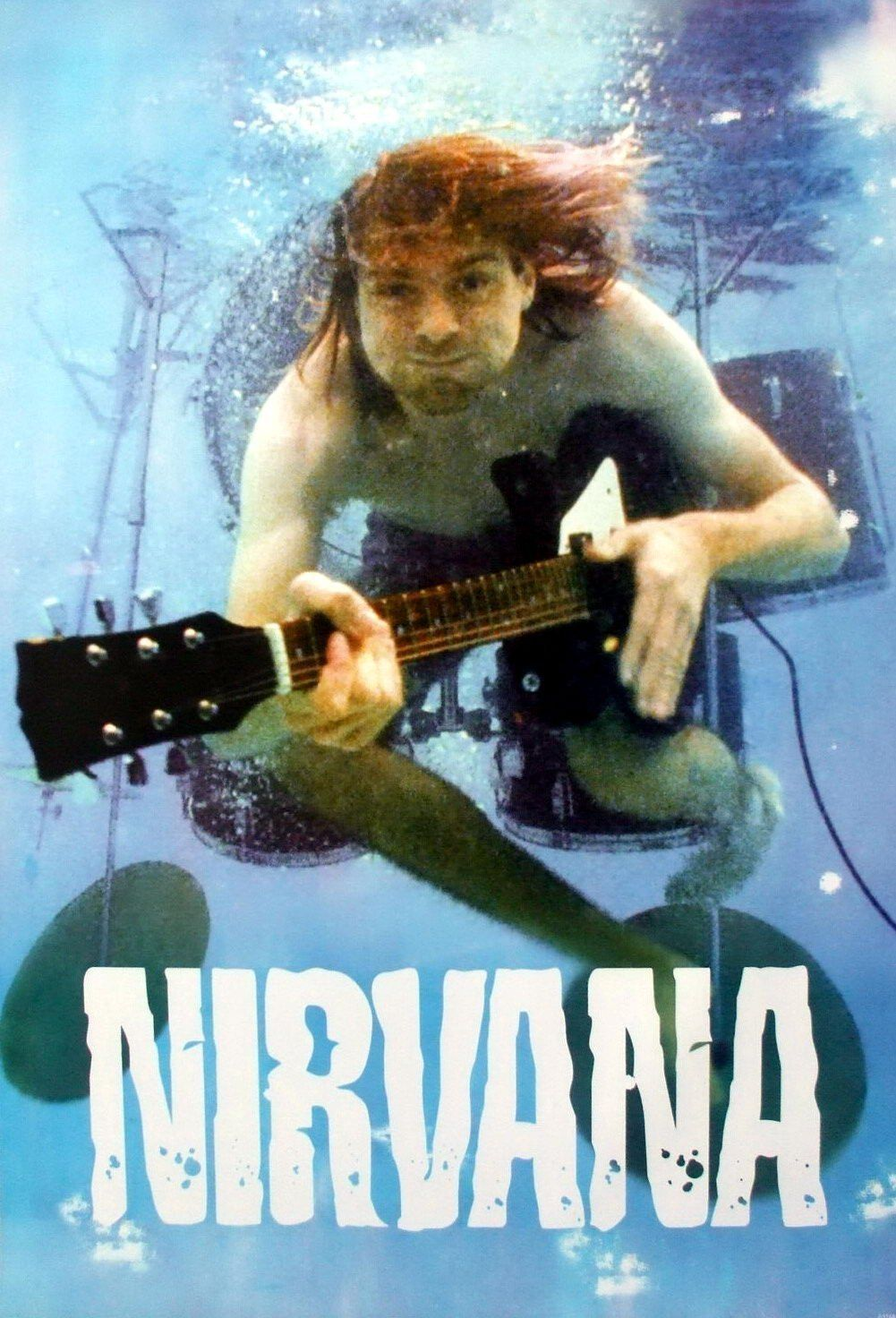 Musica Nirvana And: Nirvana Grunge Rock Band Seattle Sound Music Poster Size