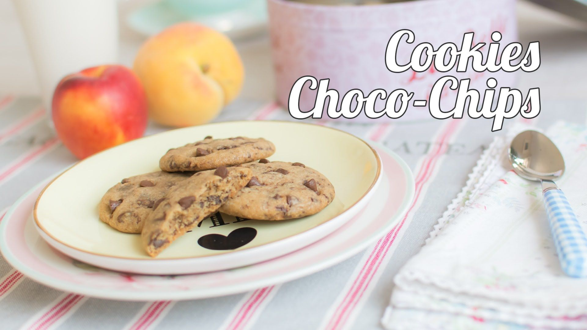 Galletas Choco-Chip | Cookies con chips de chocolate | Quiero Cupcakes!