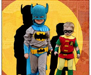 Classic Batman and Robin Kids' DIY Costumes | Halloween ...