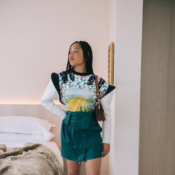 Salem Mitchell Found Her Perfect Light At Louis Vuitton's
