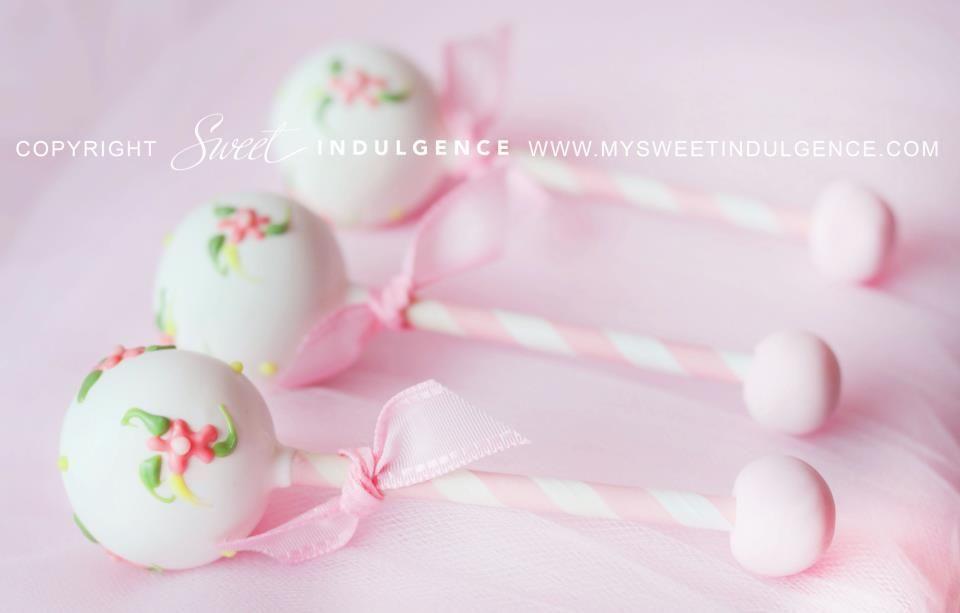 Baby Rattle Cake Pops By Sweet Indulgence Baby Shower Pinterest