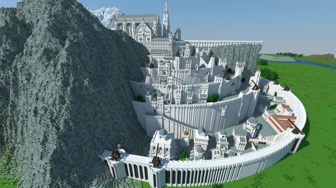 Middle Earth - A Minecraft Project by Yatyear | Geeky-Minecraft ...
