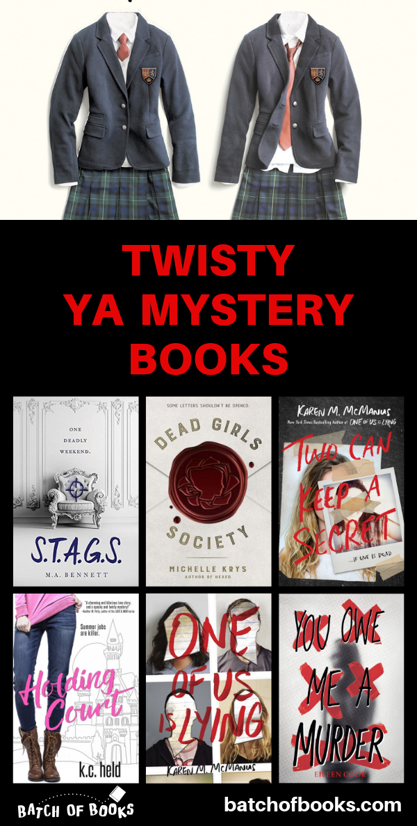 15 Twisty YA Mystery Books to Die For is part of Mystery books, Best mystery books, Murder mystery books, Books young adult, Books for teens, Good thriller books - Looking for YA mystery books loaded with secrets, plot twists, and amateur sleuthing  These teenage thrillers will keep you guessing (and gasping) all night