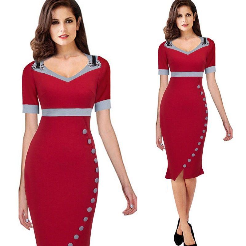 559629c30 vermelho loja online vestido trabalhar comportado virtual moda evangelica  executiva mulher virtuosa comprimento joelho frete gratis comprar vestido  vestidos ...