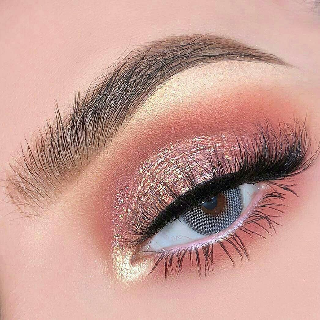 Trendy Natural Pink Eye Makeup Looks, #Pink #Eyes #Makeup