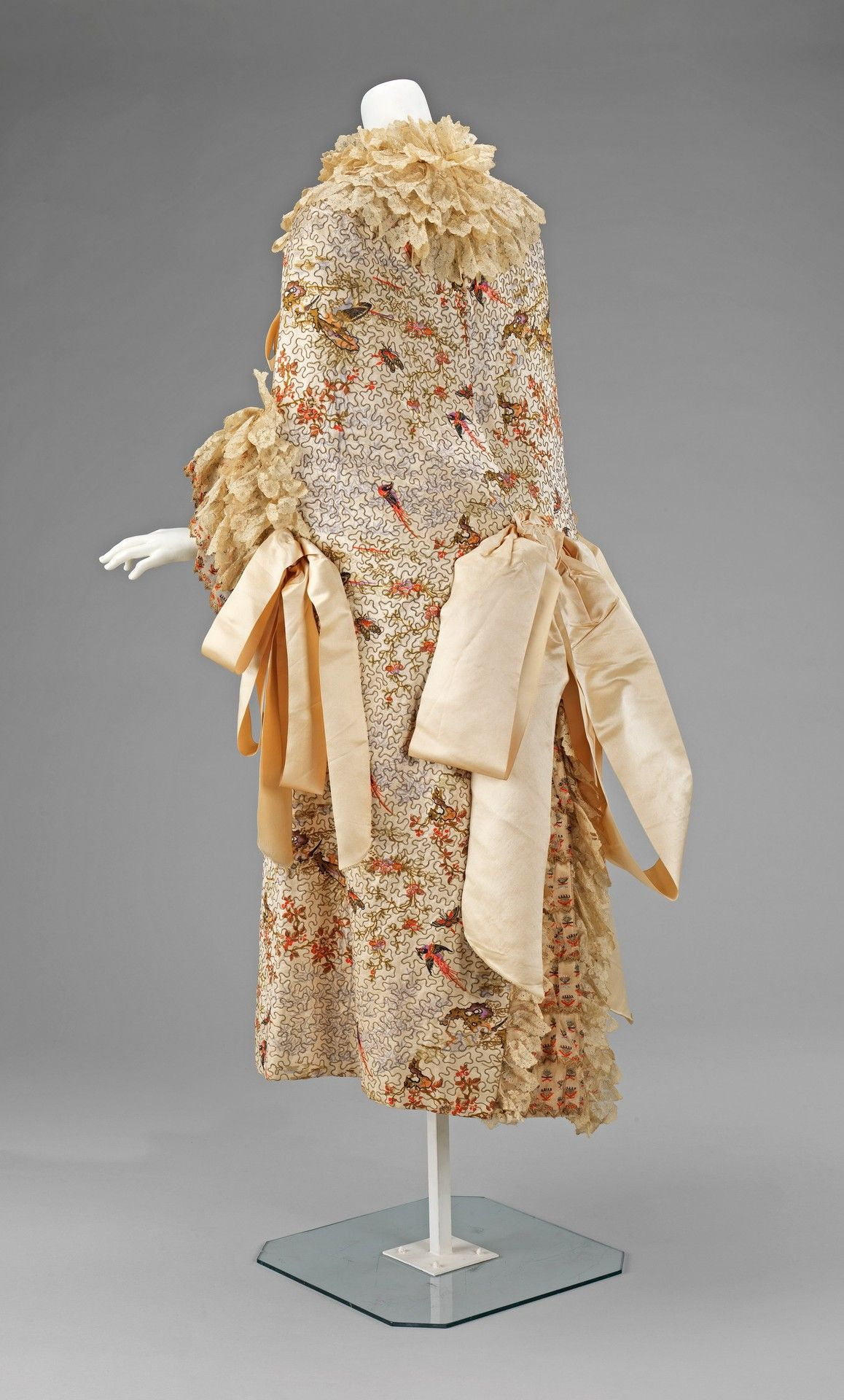 Evening Cloak 1885-89 Metropolitan Museum Of Art Vintage Clothing Fashion Victorian Era