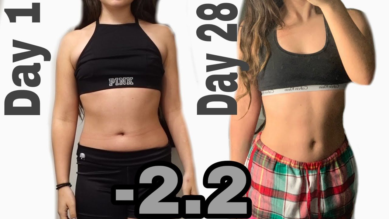 doing a chloe ting workout everyday for 26 days (results ...