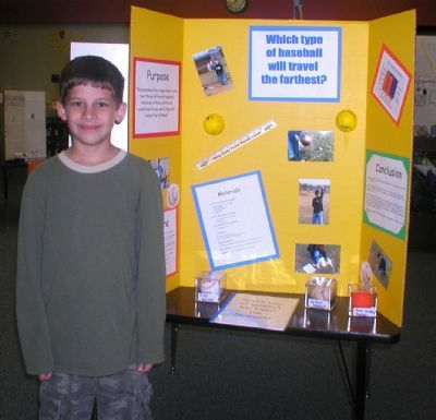 softball science fair projects