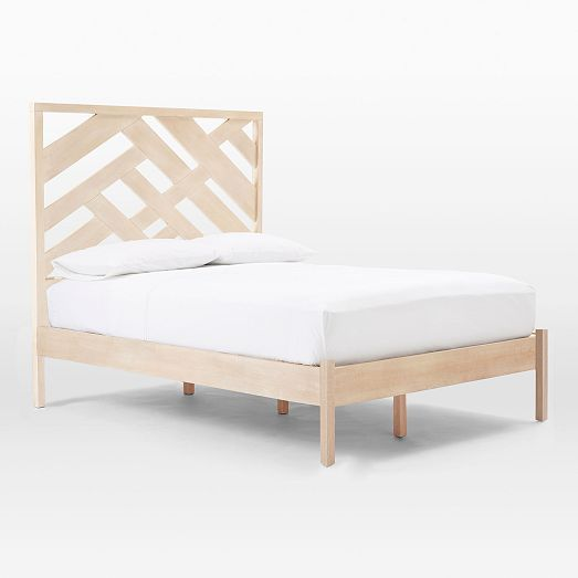respaldo calado Abstract Fretwork Bed Set | West Elm | muebles ...