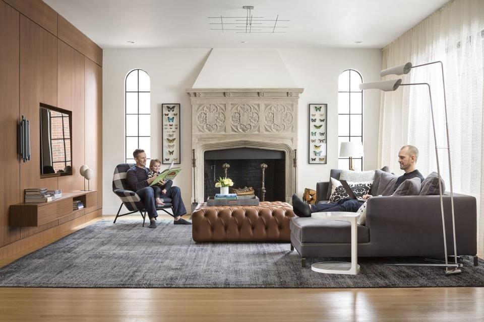 Bringing urban style to a Newton home Tudor Tudor house and