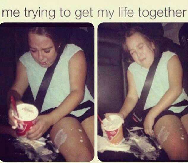 Me Trying To Get My Life Together Weknowmemes Funny Pictures Get My Life Together Bones Funny