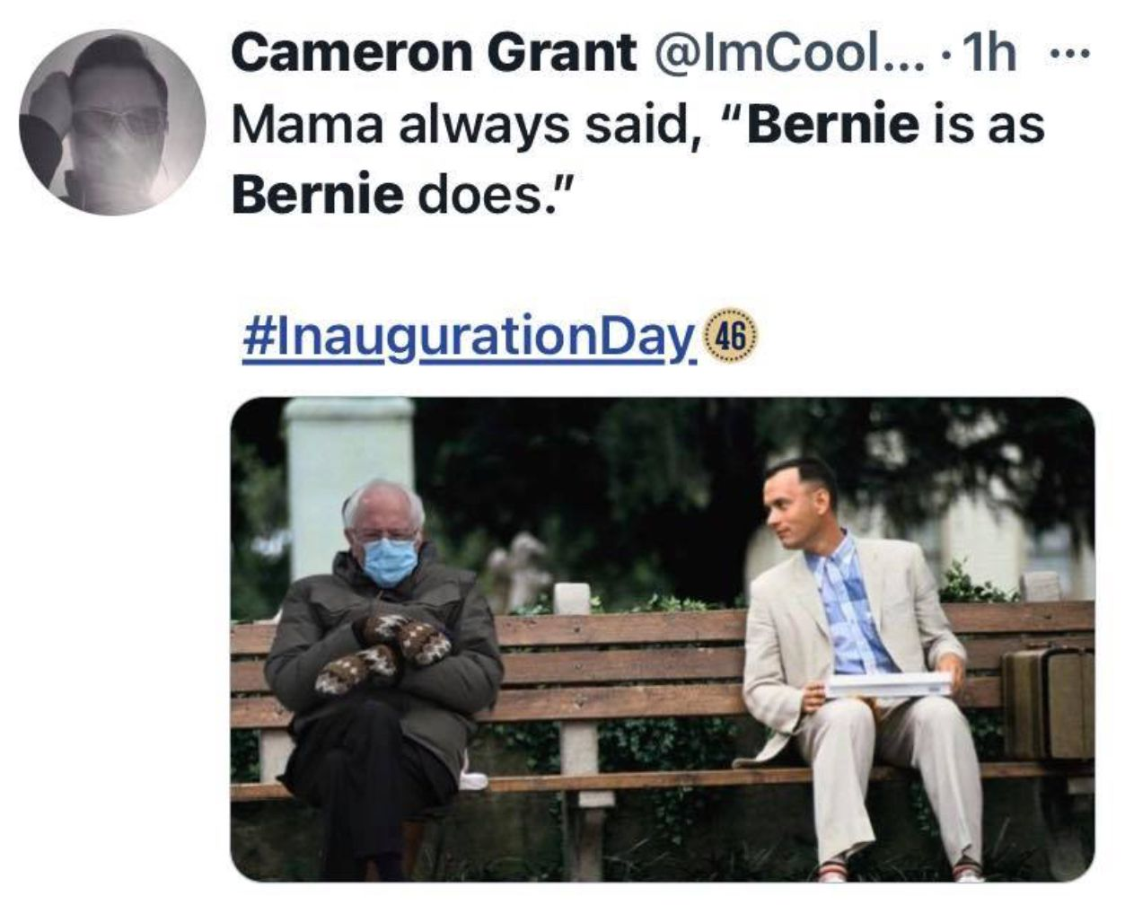 Pin By Mary Beth Hall On An Inauguration With Bernie 2021 Mitten Memes In 2021 Memes Inauguration My Love