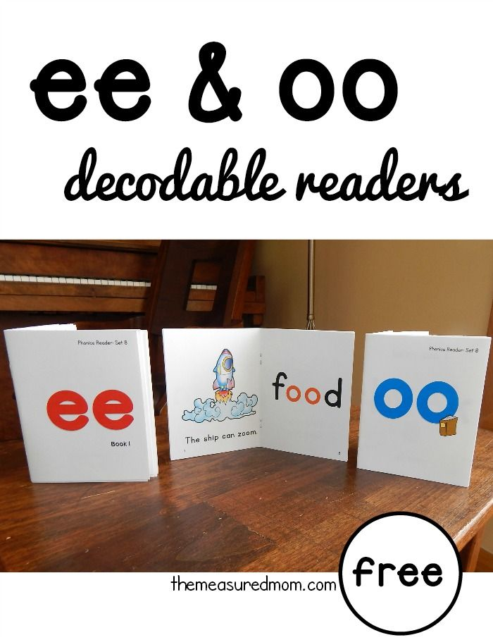 photo relating to Free Printable Decodable Books for Kindergarten known as Fresh phonics guides for ee and oo words and phrases (no cost homeschooling