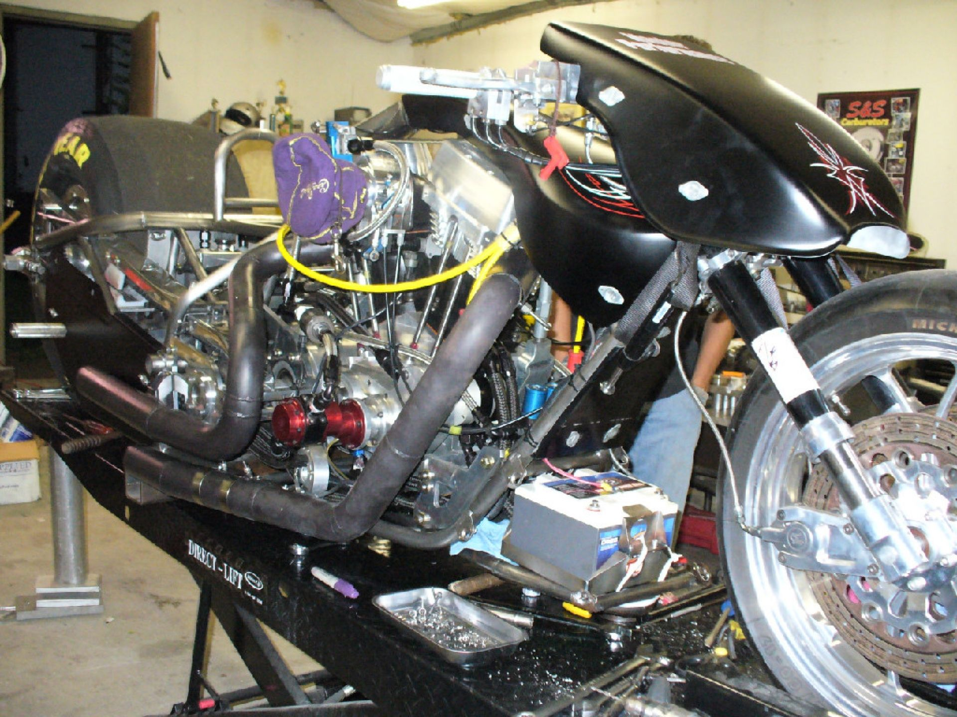 Top Fuel Nitro Dragbike Motorcycle Drag Racing Drag Bike