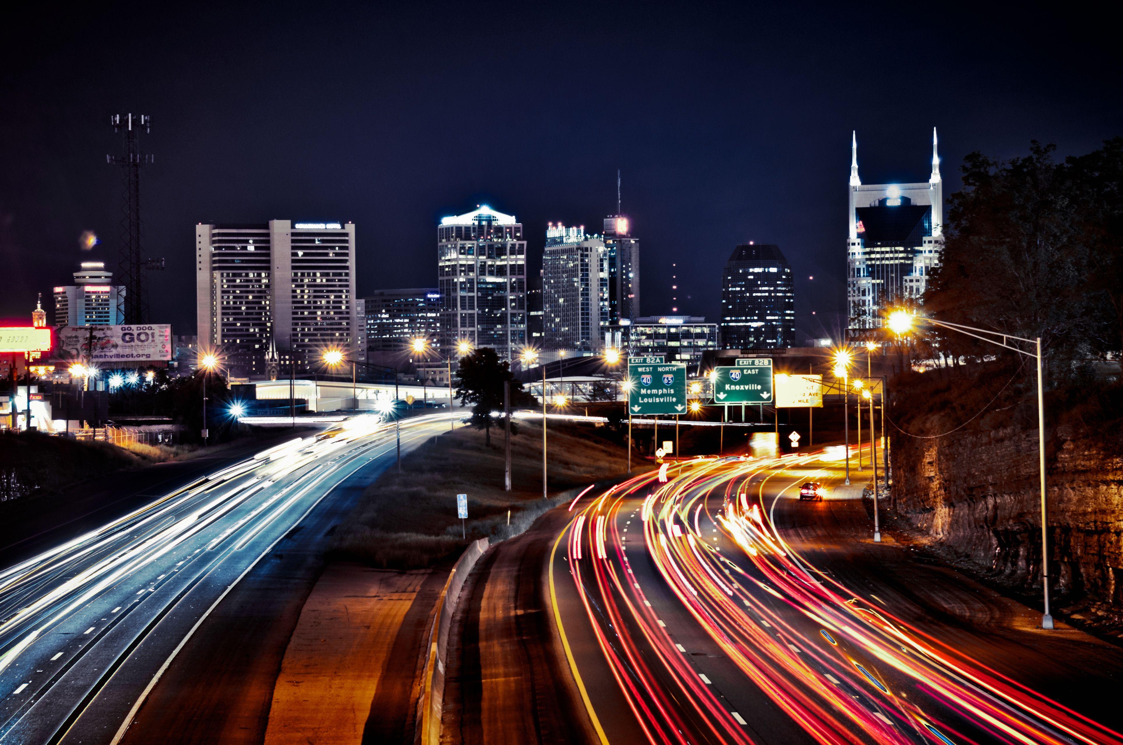 Downtown nashville tn skyline skyline nashville