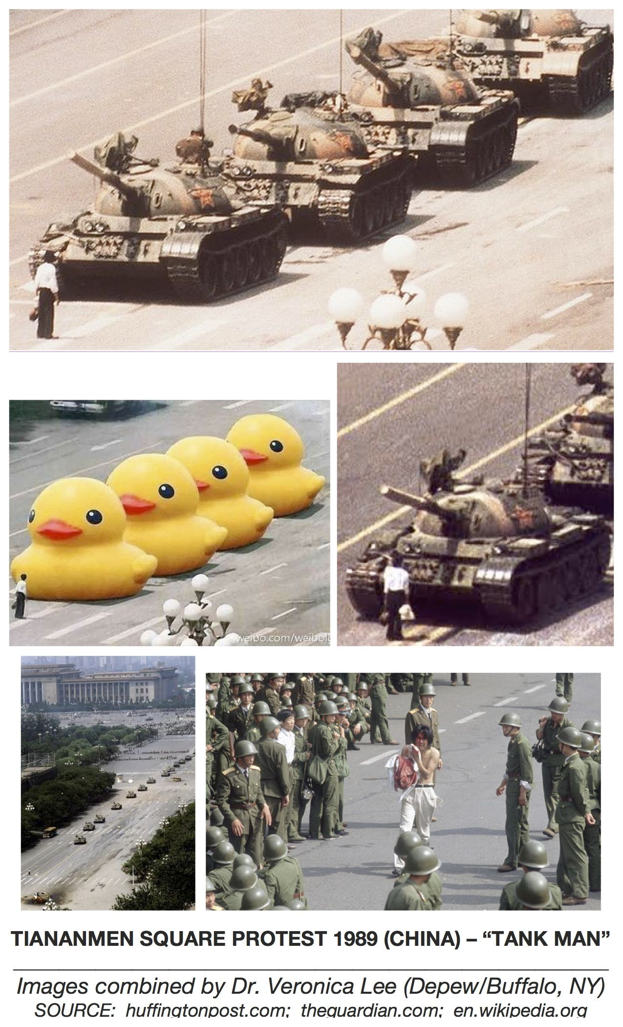 Photo Goes Viral On Tiananmen Square Anniversary Dutch Artists