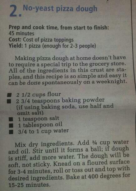 Sin masa de pizza de levadura, así que utilicé esta receta base y usé harina de garbanzos, om ...