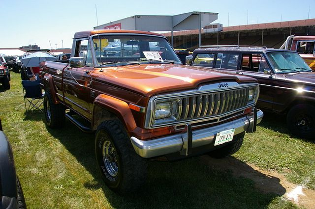 1984 Jeep J 10 Townside Pickup Truck Jpn 4jc Amen Camionetas