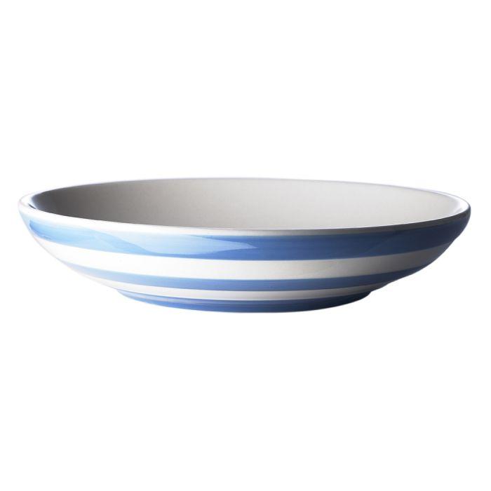 2 Pasta Bowls 24cm Cornishware Classic British Kitchenware By T G Green Cornishware Pasta Bowls Stylish Tableware