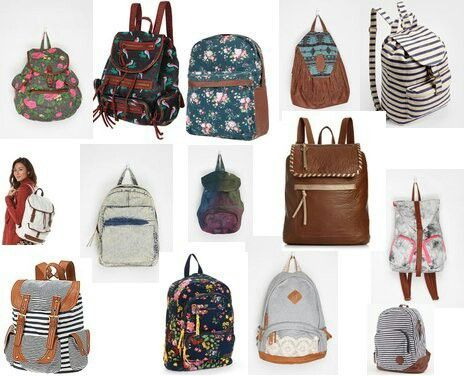 Cute back to school bag ideas for teens | Fashion | Pinterest ...