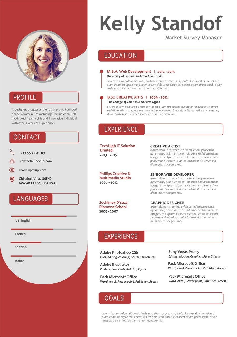 Pin by lukio on Resume in 2020 (With images) | Cv template ...