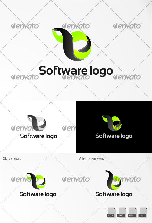 Pin by Bashooka Web & Graphic Design on 3D Logo Template