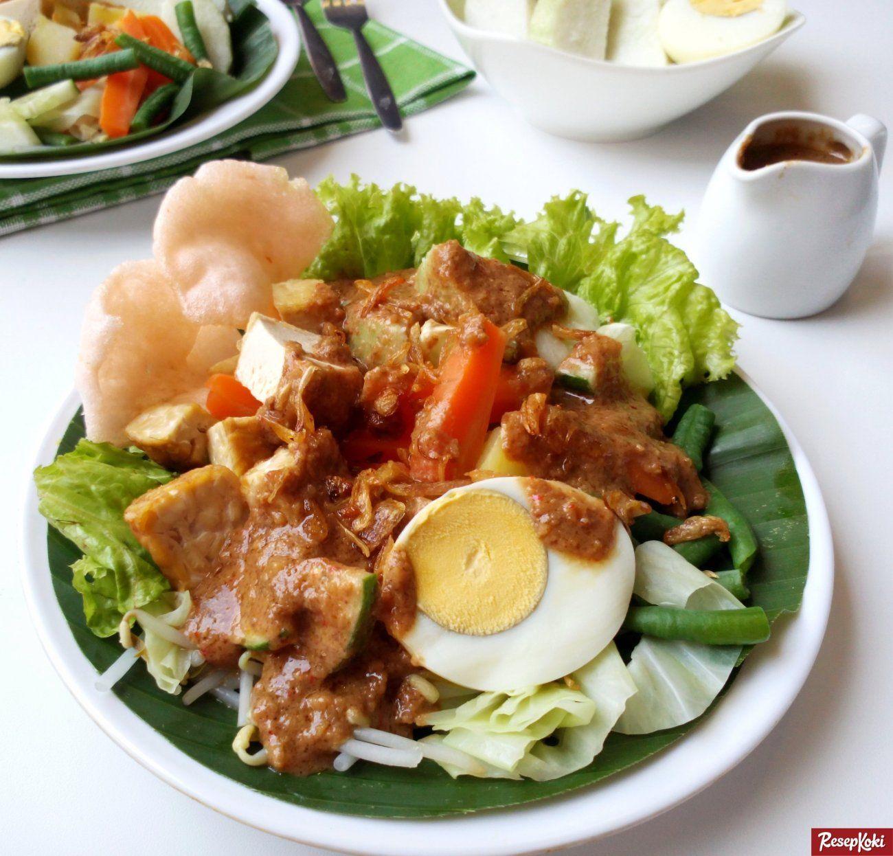 Gado Gado Betawi Lengkap Spesial Resep Resepkoki Resep Masakan Resep Masakan Resep