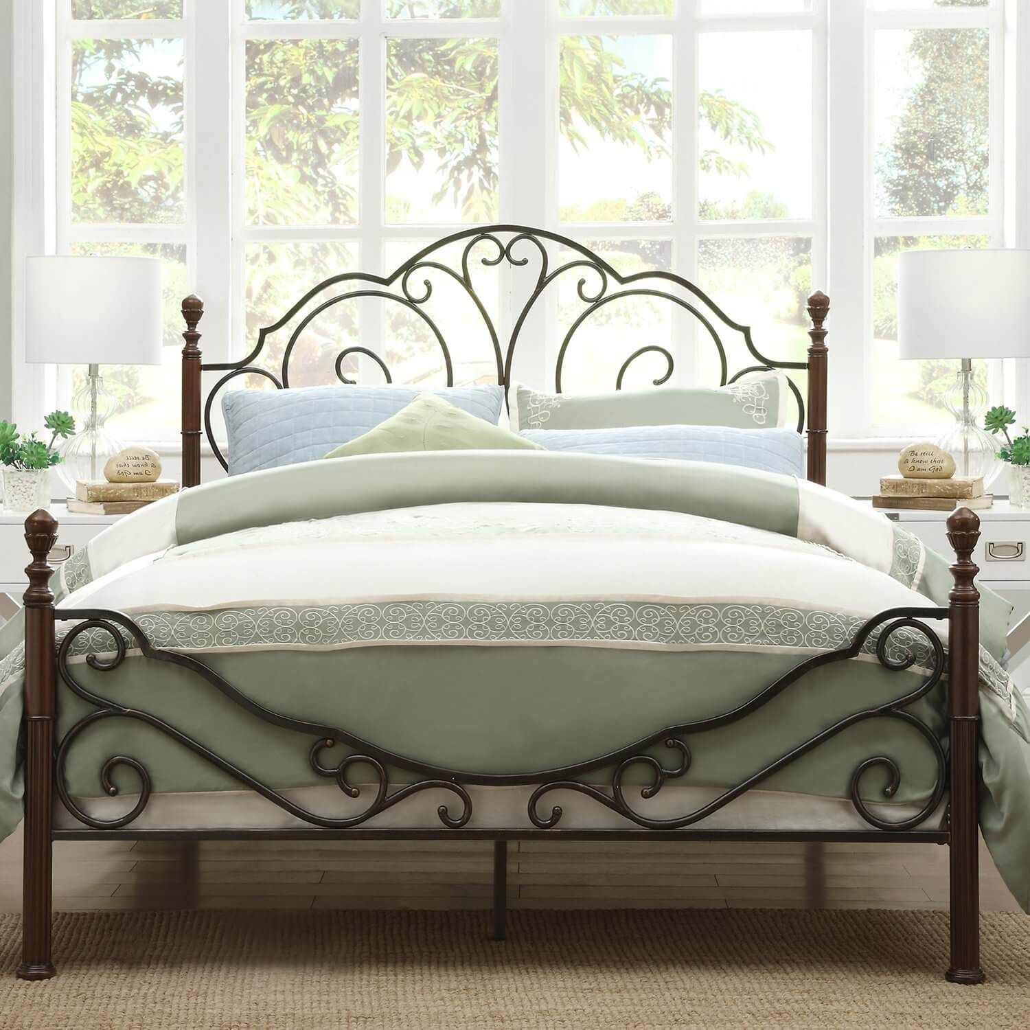 40 Inexpensive Farmhouse Style Wrought Iron Beds Iron Bed Frame