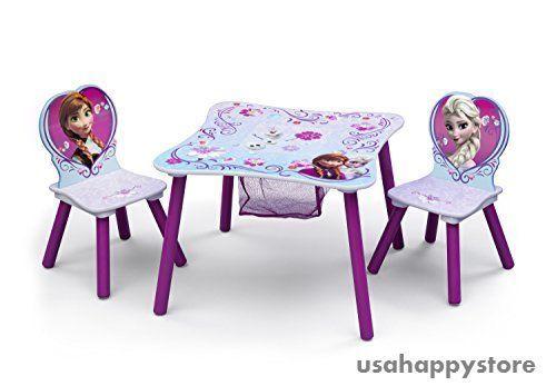 kids table and chair set disney frozen children toddler activity