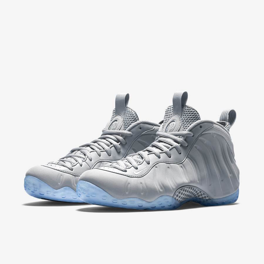 2015 Cheap Nike Foamposite One White Grey