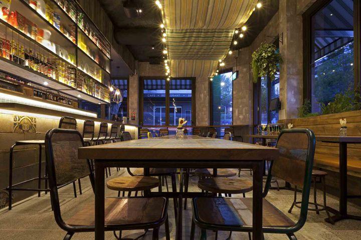 Mamas Buoi Restaurant By Giant Design Surry Hills Australia