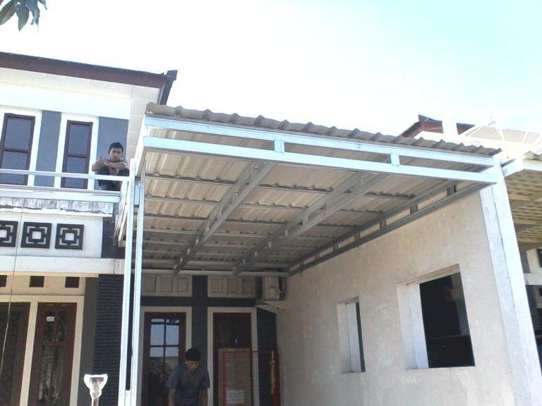 kanopi baja ringan untuk dapur surabaya canopy outdoor decor
