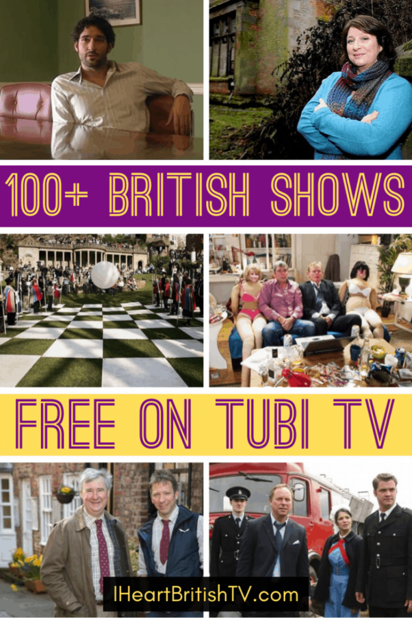 100 Free British Tv Shows On Tubi Tv Streaming British Tv British Comedy Tv Shows