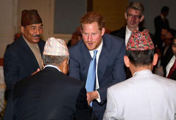 Prince Harry Photos - Prince Harry Visits Nepal - Day 1 - Zimbio