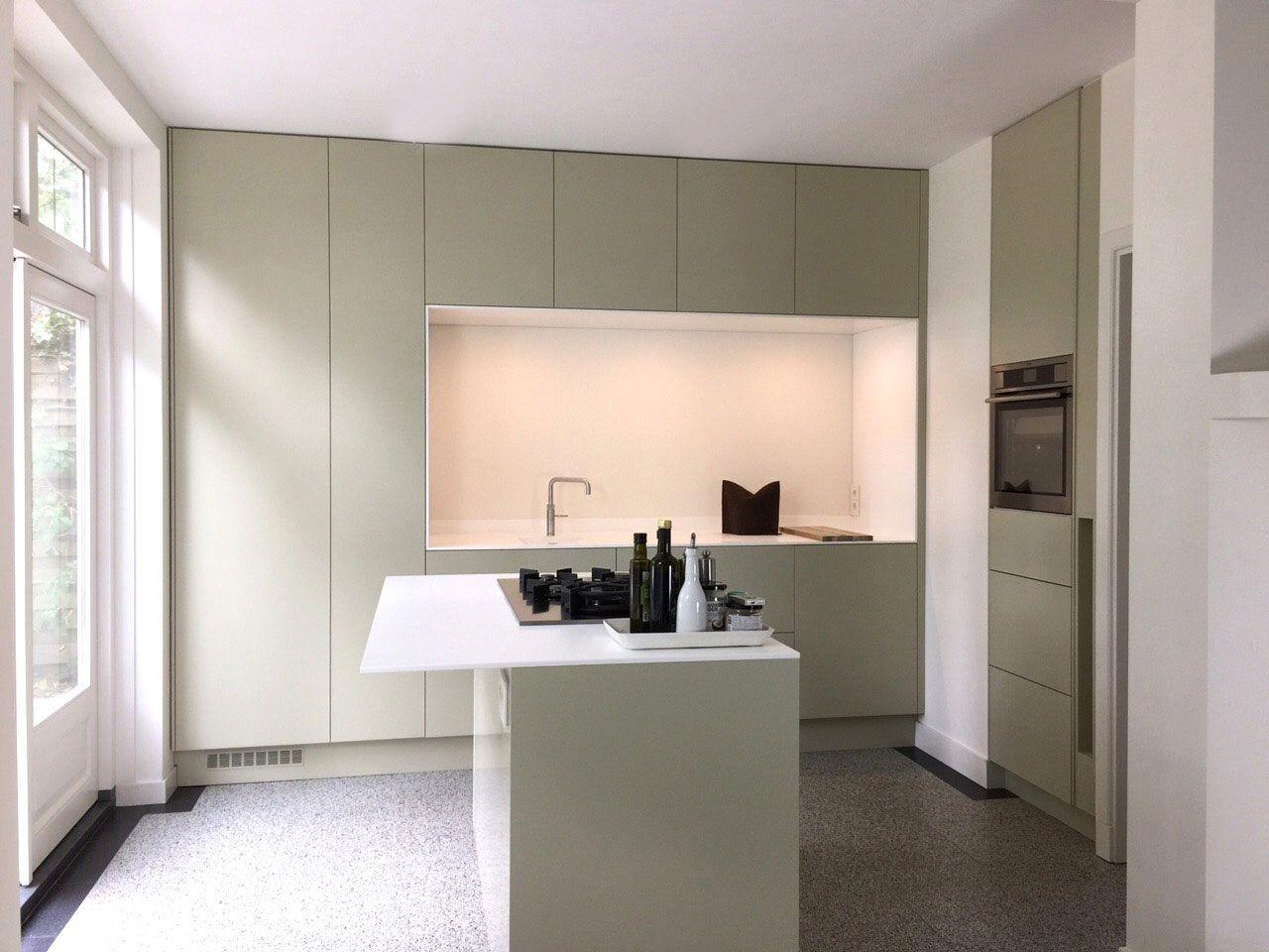 Luxe keuken mijn keukens op maat laten maken woning vdb pinterest kitchen small and kitchens - Moderne kleur huis ...