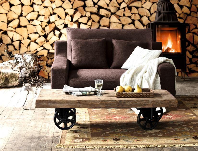 Die schönsten Landhausmöbel  Landhausmöbel mit Pepp Couchtisch - design couchtische moderne wohnzimmer
