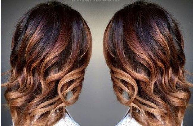Ombre Hair Marron Caramel La Grosse Tendance à Suivre