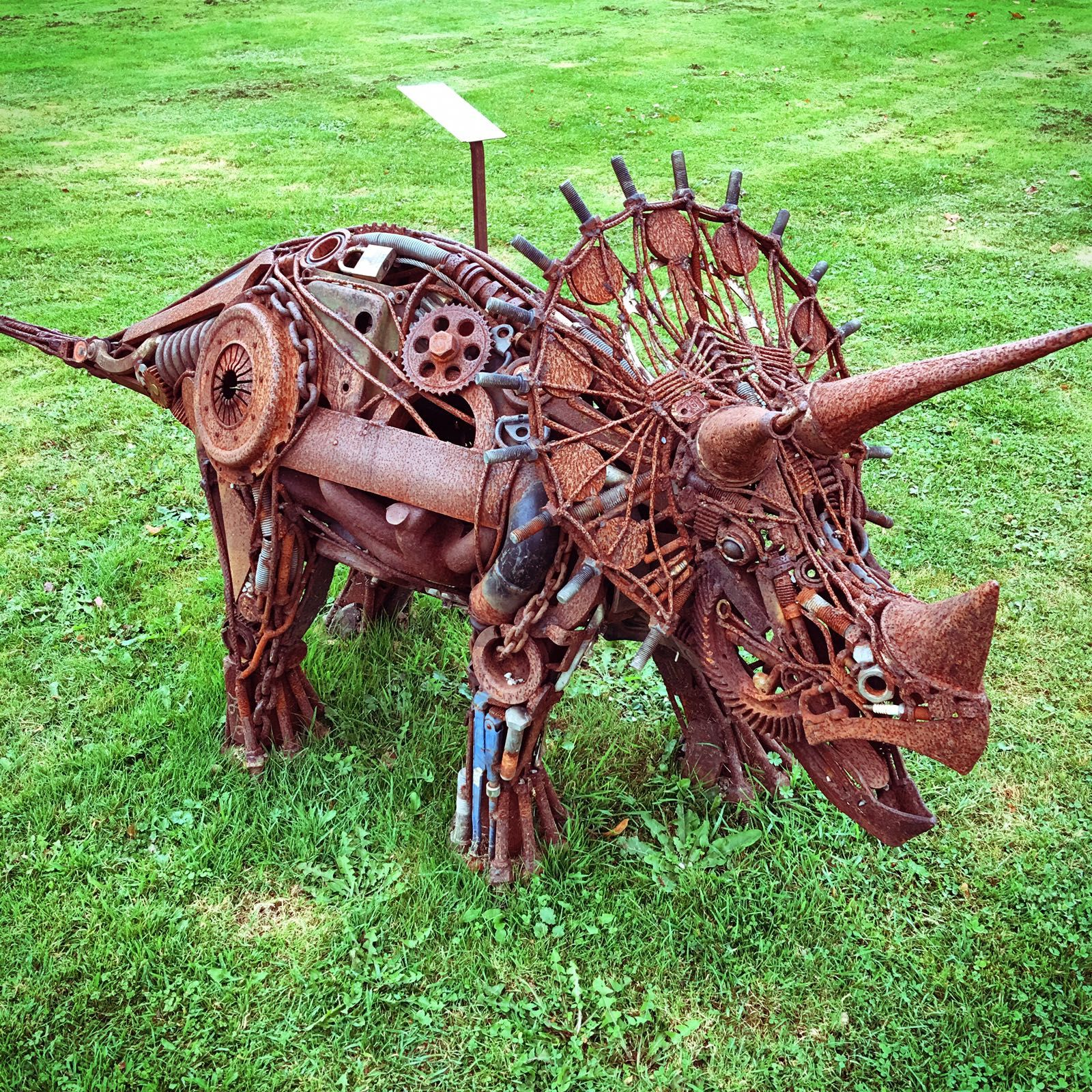 Pin by Tom Jacobs on Metal Recycle Art- Dinosaurs | Metal ...