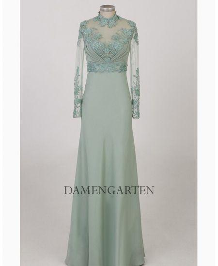 Kleid ruckenfrei lange armel