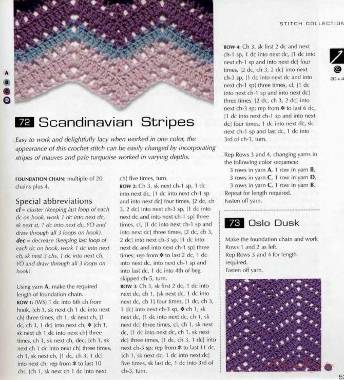 Scandinavian Stripes   Ripple and Chevron Afghans   Pinterest ...