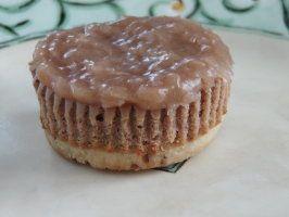 German Chocolate Cheesecake Tarts #germanchocolatecheesecake
