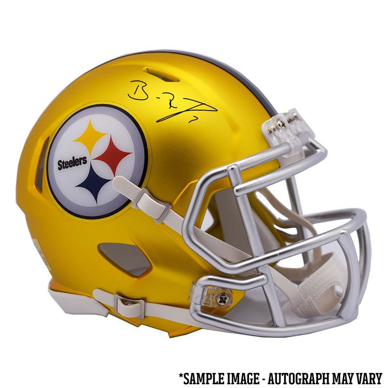 watch 4fbe9 dbb0a Ben Roethlisberger Pittsburgh Steelers Fanatics Authentic ...