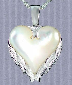 Angel Wings Silver Pendant Urn Necklace Memorial Jewelry Ashes Jewelry Memorial Jewelry Urn Necklaces